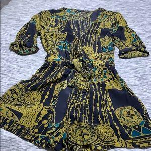 Silk Printed Romper